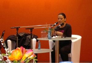 Tatjana Kruse auf der Leipziger Buchmesse 2014